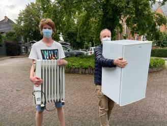 Schilde solidair: inzamelactie van elektrotoestellen gestart voor slachtoffers watersnood in Rochefort