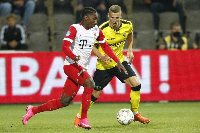 Eljero Elia viel pas in de 81ste minuut bij FC Utrecht.