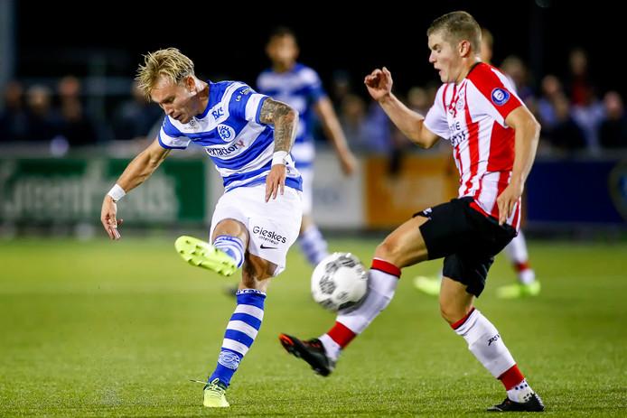 Philippe Rommens (rechts) staat in de belangstelling van Helmond Sport.