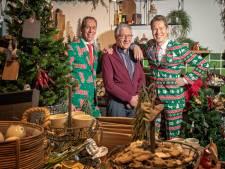 Intratuin-familie is samen op de zaak en aan kerstdis