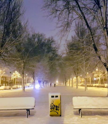 Precies één jaar geleden: een dik pak sneeuw in Utrecht