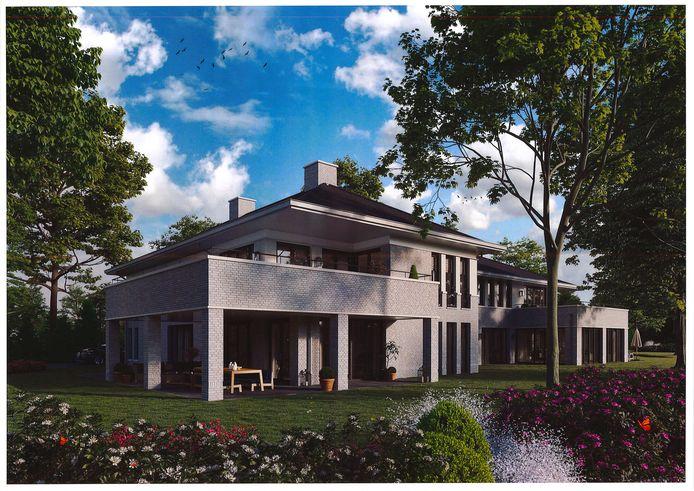 Villa Tetra in Goirle