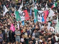Des milliers d'opposants aux unions civiles rassemblés à Rome