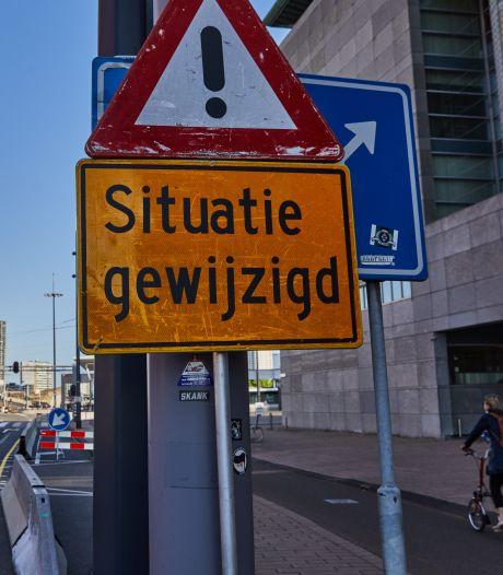 Noodkreet uit Zuid: 'Stop direct met verkeersexperiment Erasmusbrug'