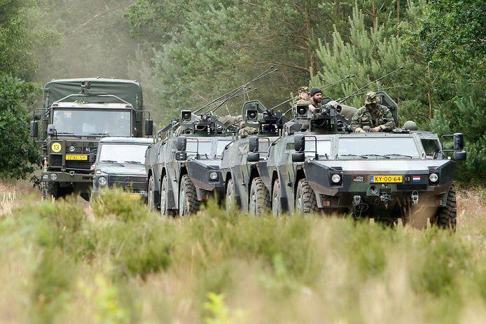 Een van de militairen - niet de personen op deze foto - werd aangehouden in Havelte, de ander in Den Helder.