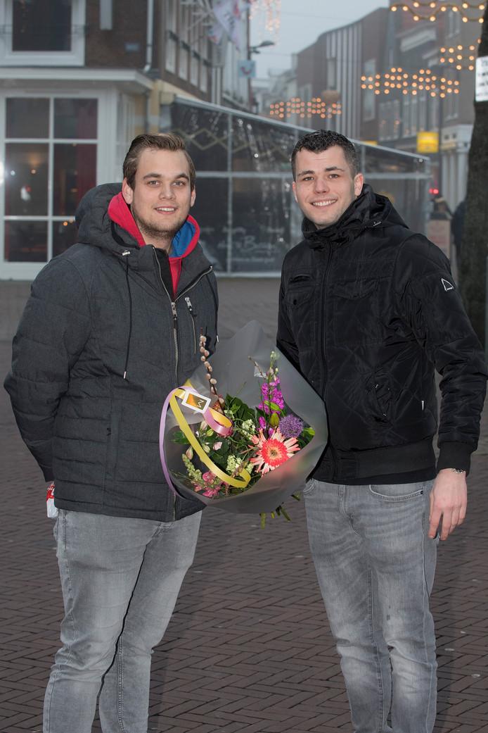 Rik Dohmen en Dirk Berkhout in Tiel