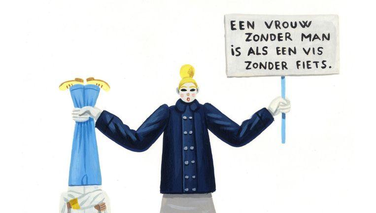 null Beeld Pieter Van Eenoge