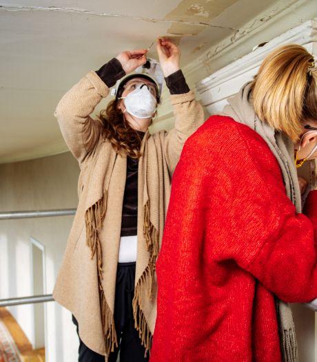 Studentes leggen het geheim van Paleis Soestdijk bloot met onderzoek naar verflagen