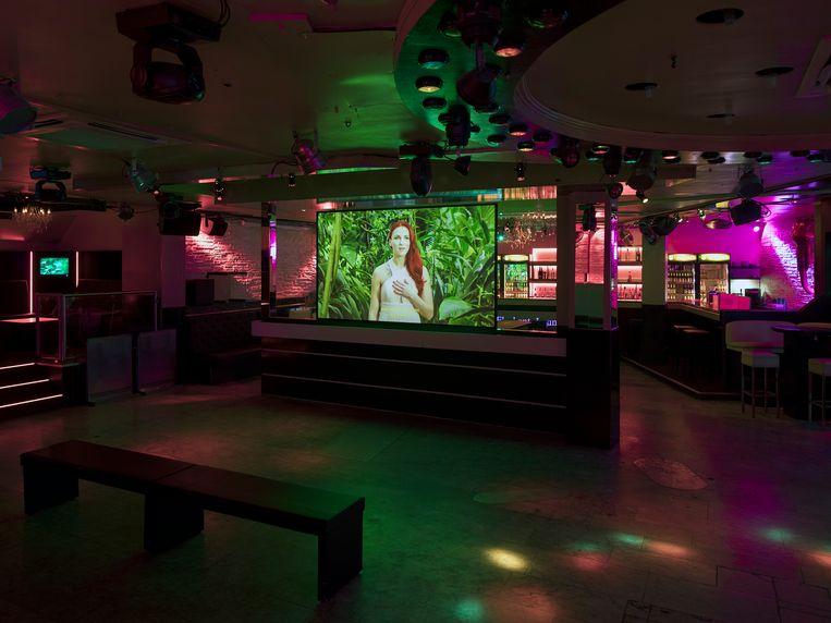 In de Elephant Lounge lijkt het altijd nacht en spelen twee schlagerhelden de hoofdrol. Beeld RV - Henning Rogge
