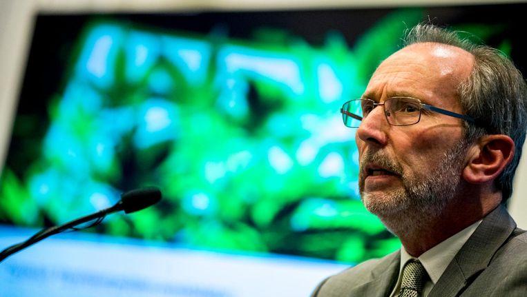 Prof. dr. André Knottnerus, voorzitter van de commissie die het experiment met door de staat gekweekte cannabis voorbereidt. Beeld anp