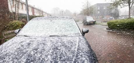 KNMI waarschuwt voor lokale gladheid, al diverse ongelukken