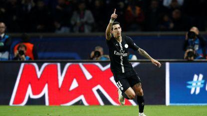 Di Maria verpest met prinsheerlijk pareltje het feest van scorende Mertens: PSG en Napoli verdelen de buit