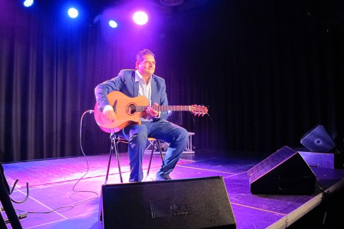 Jimmy Rosenberg in Volt Sittard (archieffoto december 2018).