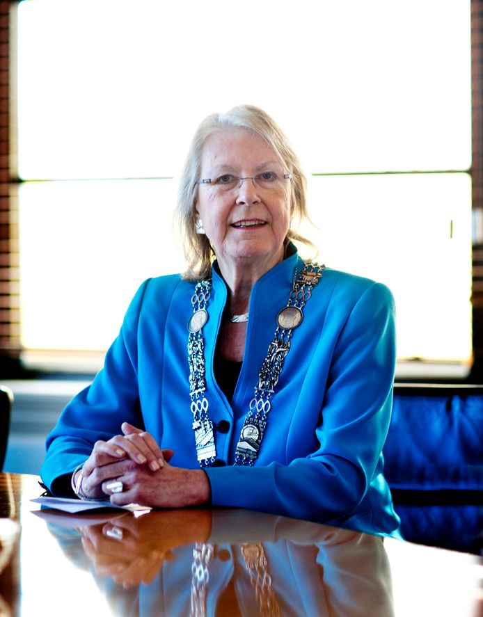 Burgemeester Francisca Ravestein.
