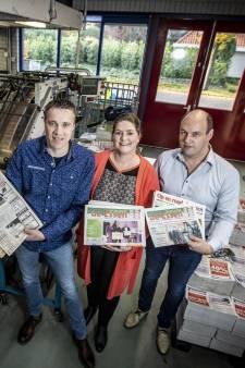 Redactie weekblad 'Op en Rond de Essen' overgedragen aan Denekampse drukkerij