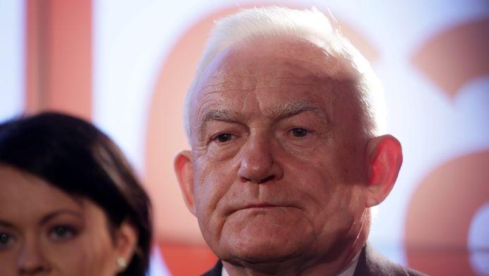 Leszek Miller, voormalig Pools premier en voorzitter van de linkse SLD, is erg kritisch tegenover Duits bondskanselier Angela Merkel.