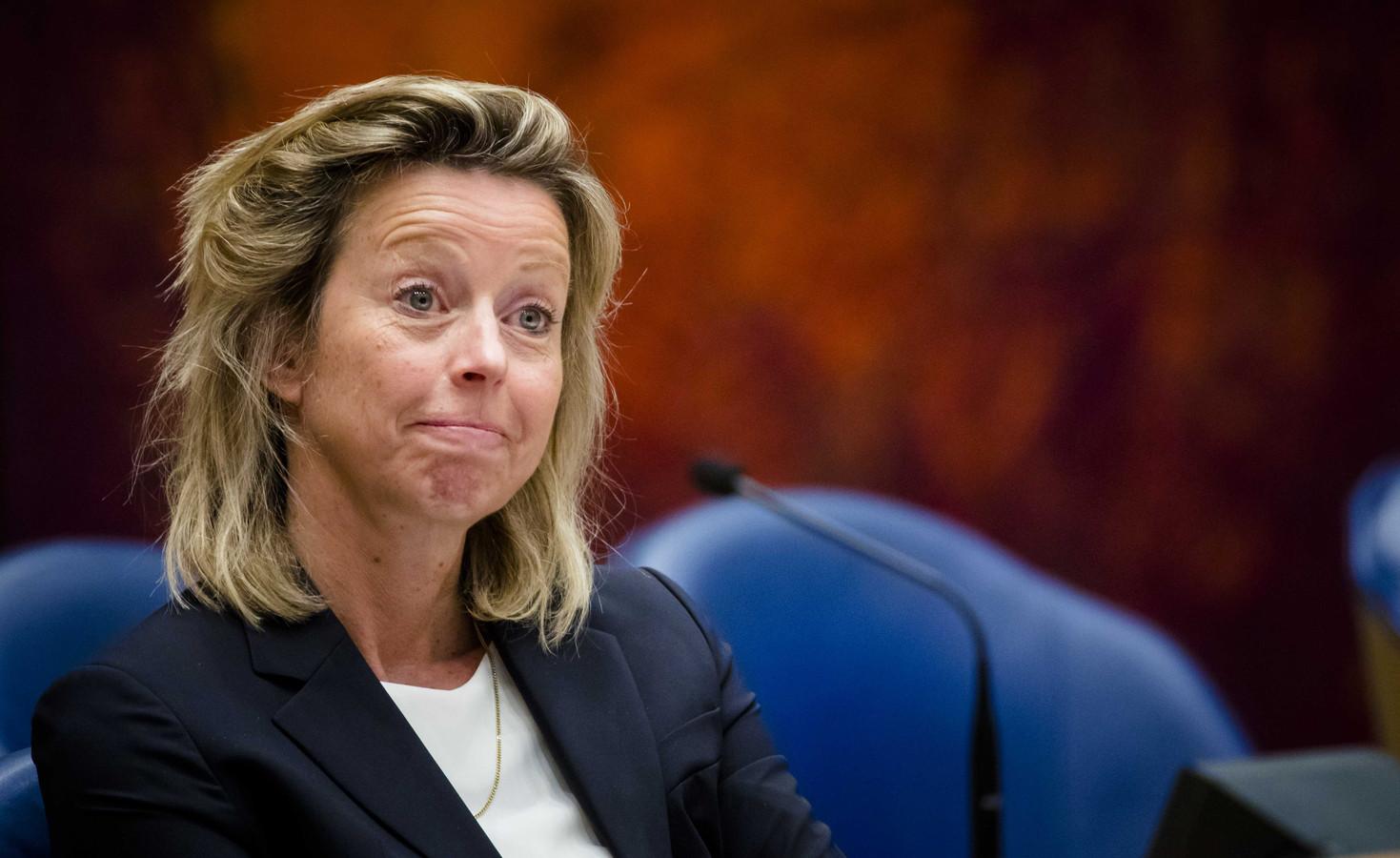 Minister Kajsa Ollongren van Binnenlandse Zaken en Koninkrijksrelaties