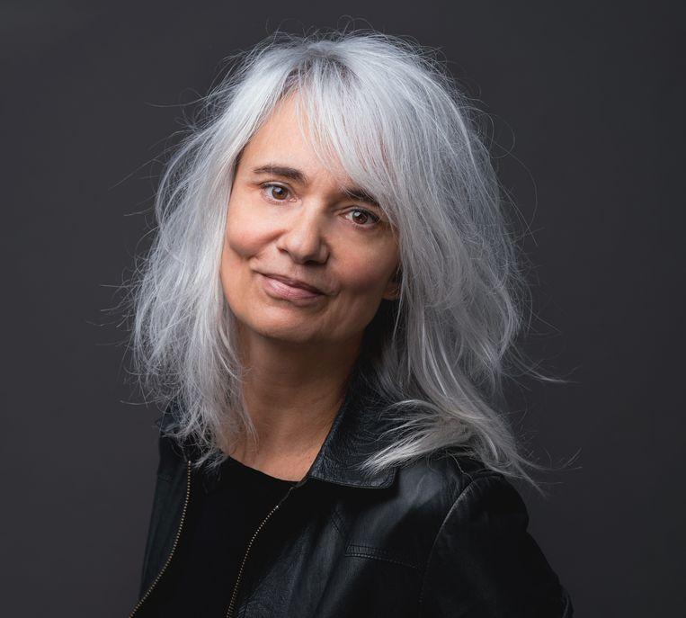 Anne Nieuwpoort maakt woordkunst op eigen initiatief en in opdracht voor bedrijven en particulieren. Beeld