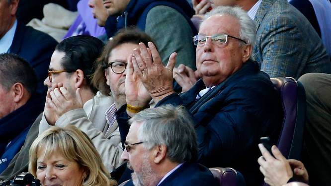 """Marc Coucke réagit à l'inculpation des anciens dirigeants d'Anderlecht: """"Heureux et triste en même temps"""""""