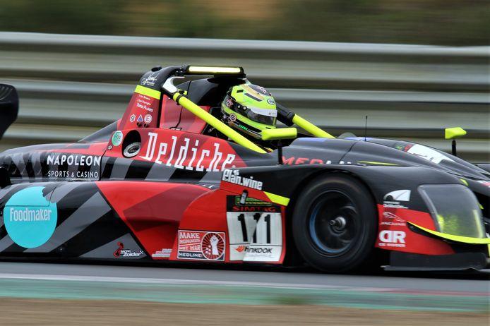 Tom Boonen in de Norma van Deldiche Racing.