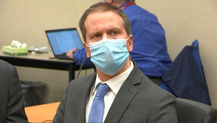 Agent Derek Chauvin werd over de hele lijn schuldig verklaard. Beeld AFP