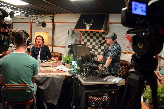 In de studio van Studio FCG wordt op 13 maart het eerste lokale verkiezingsdebat gehouden.