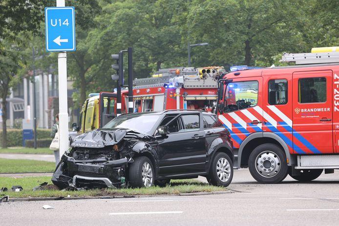 De veroorzaker van het ongeval reed in deze Range Rover, die hij eerder op de ochtend afhandig maakte op de N279 in Veghel.