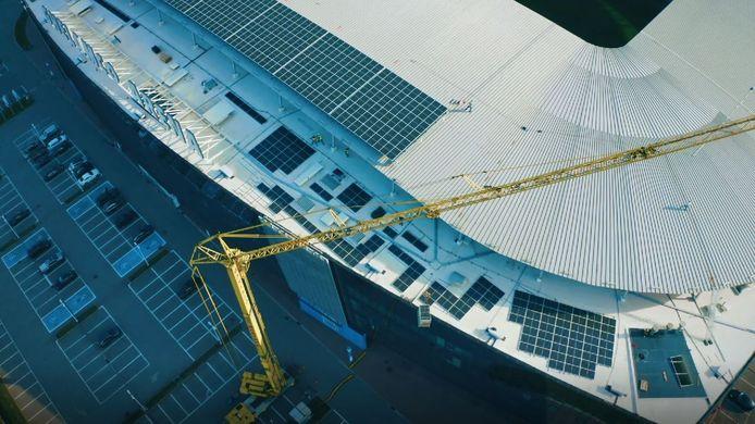 Ghelamco Arena krijgt zonnepanelen.