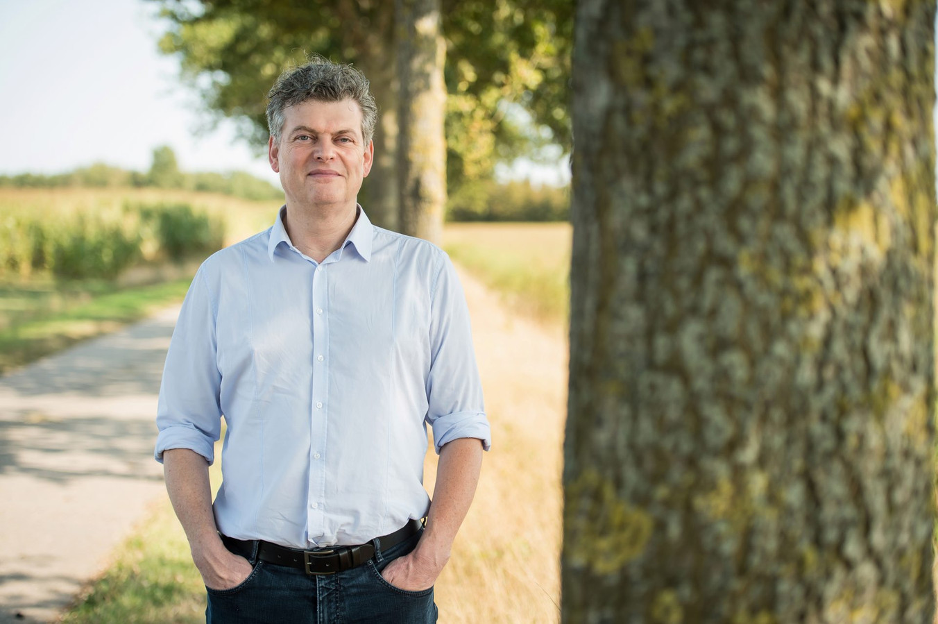 Bart Van Hulle, de burgemeester van Maldegem.