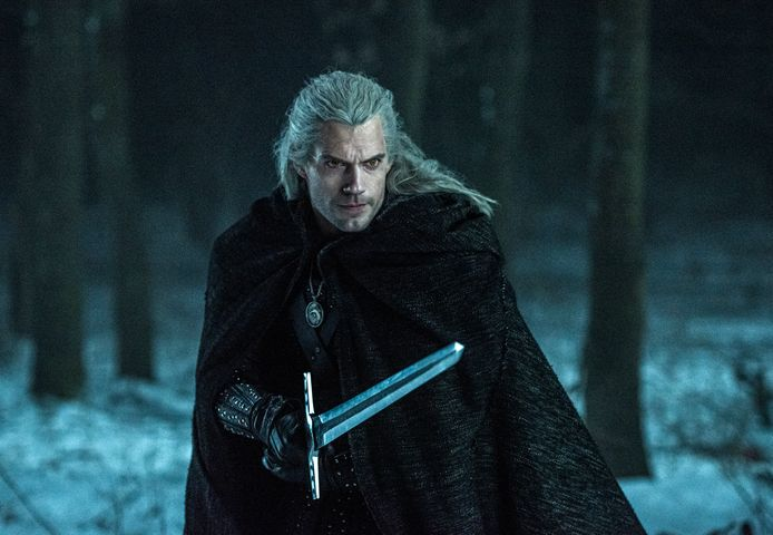 Henry Cavill in 'The Witcher'.