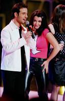 """Mario et Jenifer lors de la tournée de la """"Star Academy"""" en 2002."""