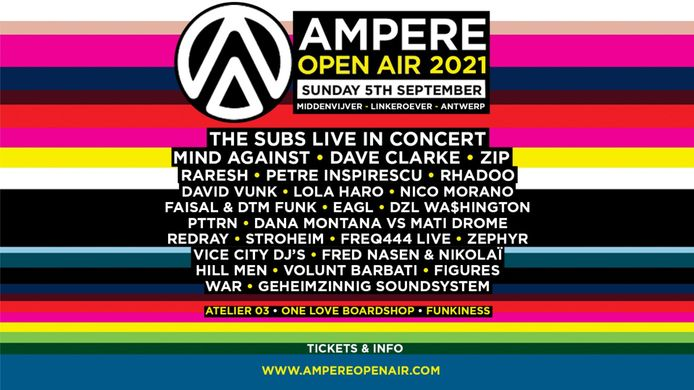 Line-up Ampere Open Air 2021