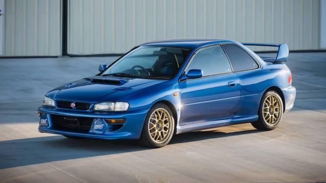 Waarom iemand 312.555 dollar over had voor deze ruim twintig jaar oude Subaru
