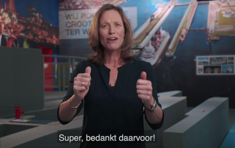 Zeesluis IJmuiden Beeld YouTube