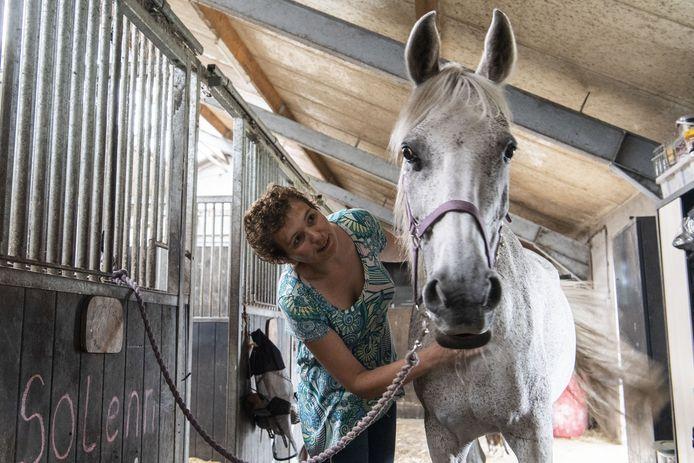 Claudia raakte vermist toen ze zou gaan paardrijden.