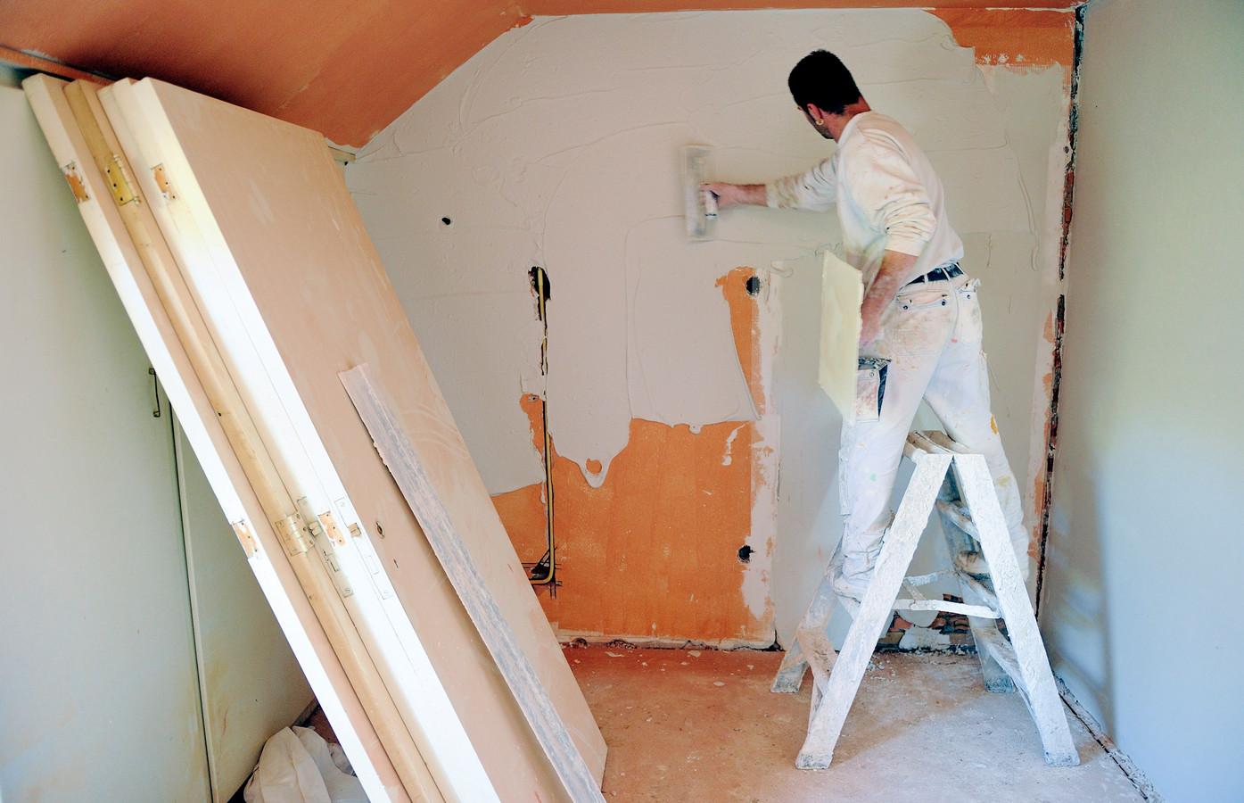 Vooral klussen als woningrenovaties en verduurzamingen zijn populair.