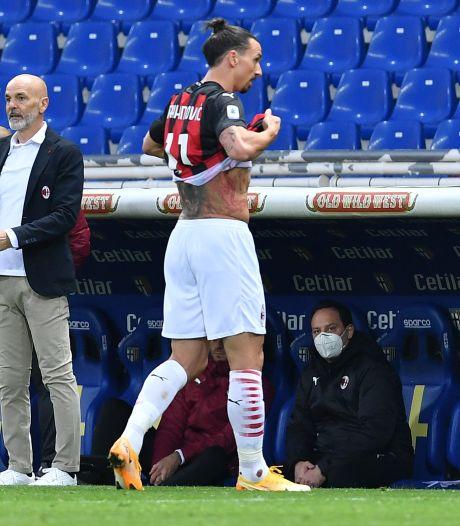 Gefrustreerde Zlatan beledigt arbiter en krijgt rood