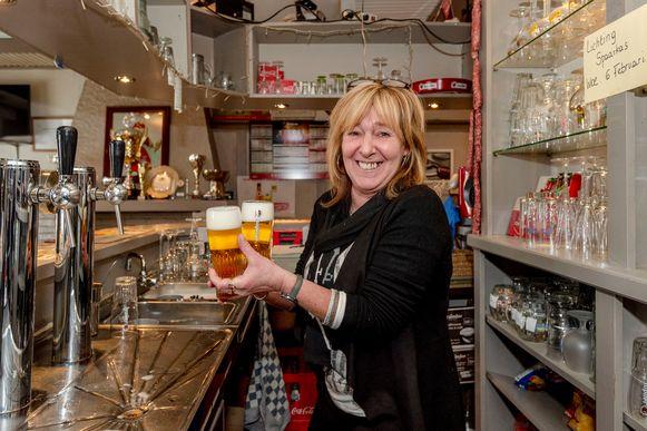 Nancy De Rijck was 20 jaar geleden een van de eersten die Win For Life won. Nu heeft ze een café in Haaltert.