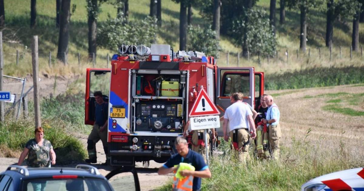 Quadrijder gewond bij ongeluk Nieuw-Namen.