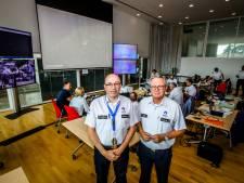 """Op bezoek in het commandocentrum van de politie, waar ze zich voorbereiden op passage Wout Van Aert en co: """"500 agenten op terrein, tientallen camera's en constante monitoring"""""""