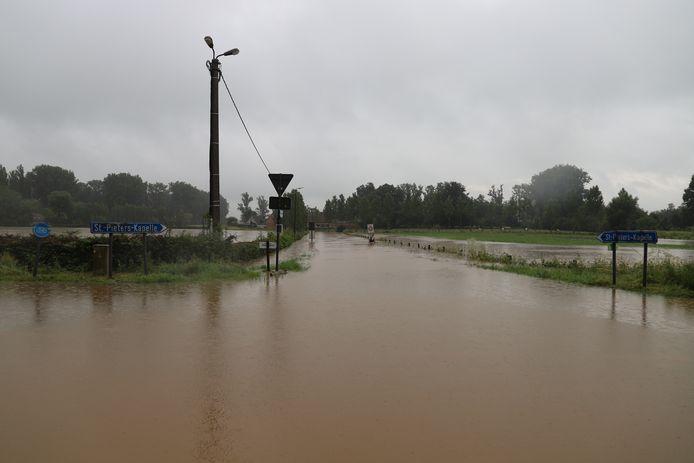 Wateroverlast in Herne.