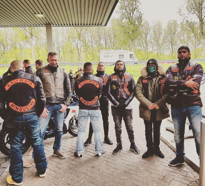 De Hindoestaanse motorclub Kali mata Hindustan.