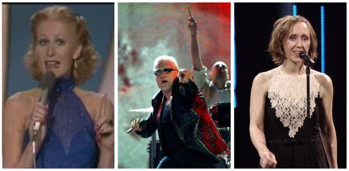 België op het Songfestival: niet altijd een succes