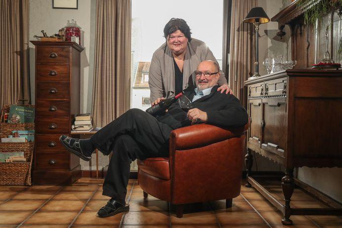 Archiefbeeld van Luc Asselman en Maggie De Block.