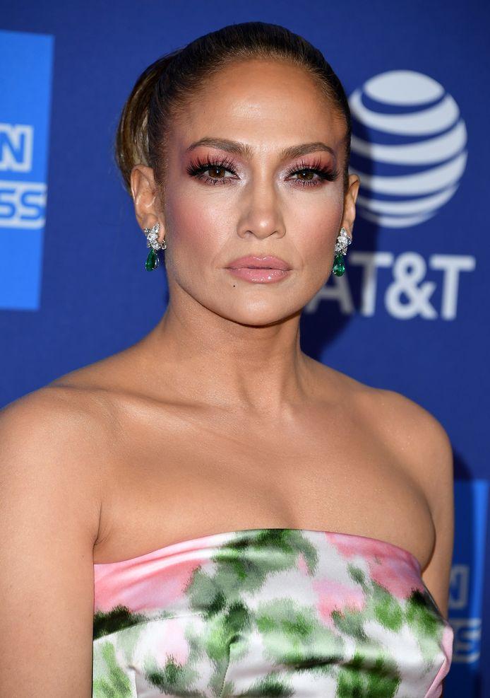Jennifer Lopez arrives