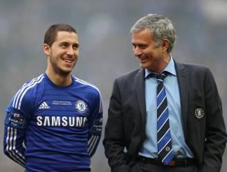 """Britse pers voelt Mourinho nog eens aan de tand over Hazard: """"Eden is een geweldige speler, maar hij teert vooral op z'n talent"""""""