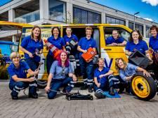Dit zijn alle elf vrouwen van de Wegenwacht: 'Pas had ik twee huilende mannen in één week'