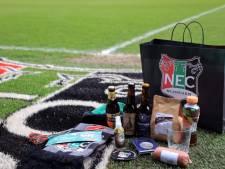 NEC-supporters steunen lokale ondernemers met 'een Teske veur Thuus'