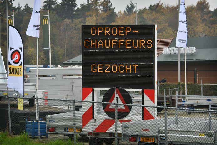 Transportbedrijf Heisterkamp werft onder andere met speeddating chauffeurs.