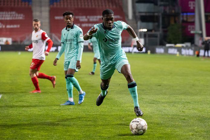 Derrick Köhn was op dreef tegen FC Utrecht afgelopen zaterdag.